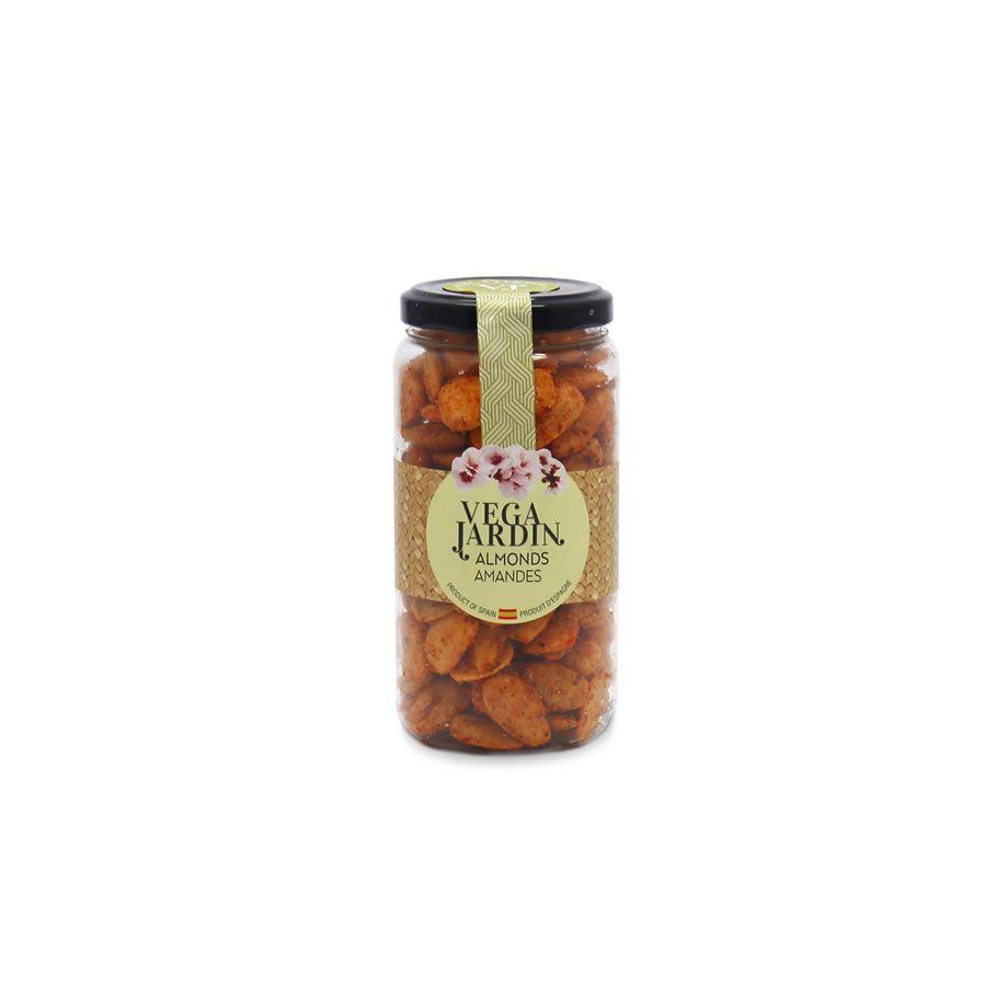 Valencia Almonds Fried & Salted Hot Paprika 215 g