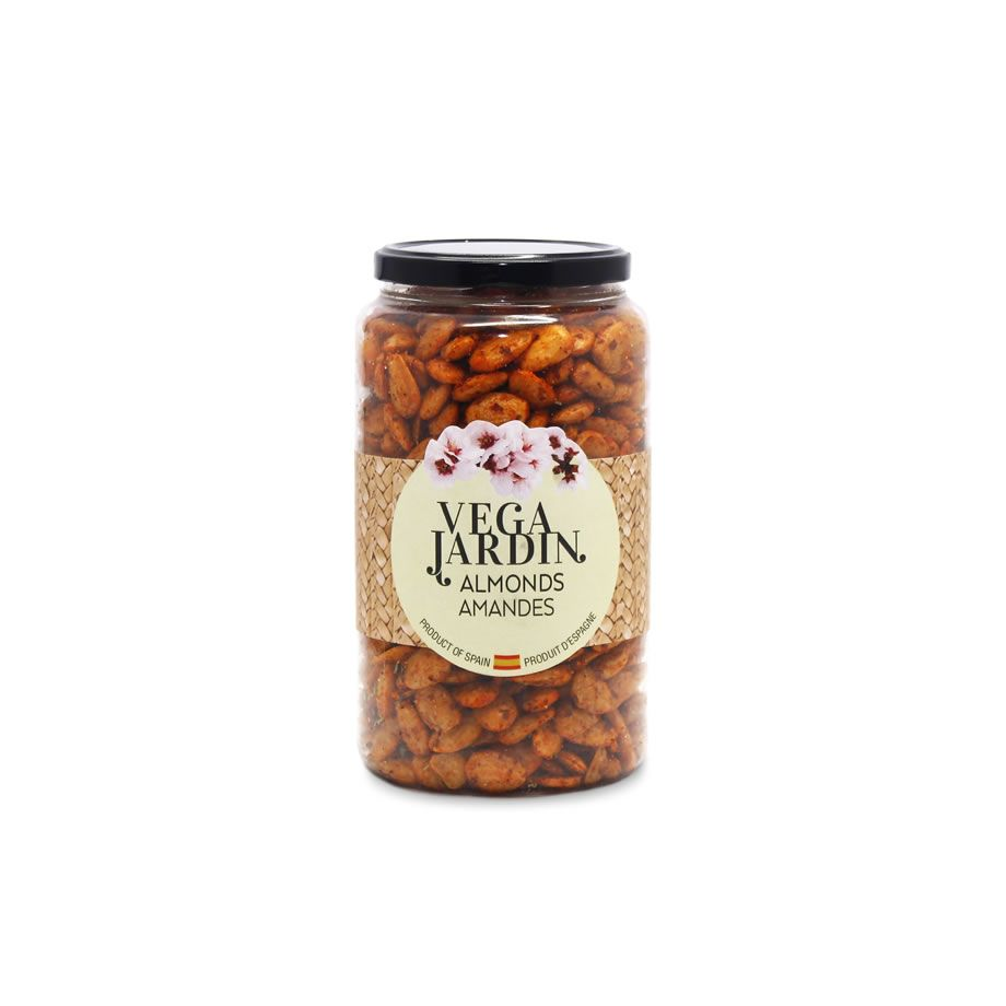 Valencia Almonds Fried & Salted Hot Paprika 910 g