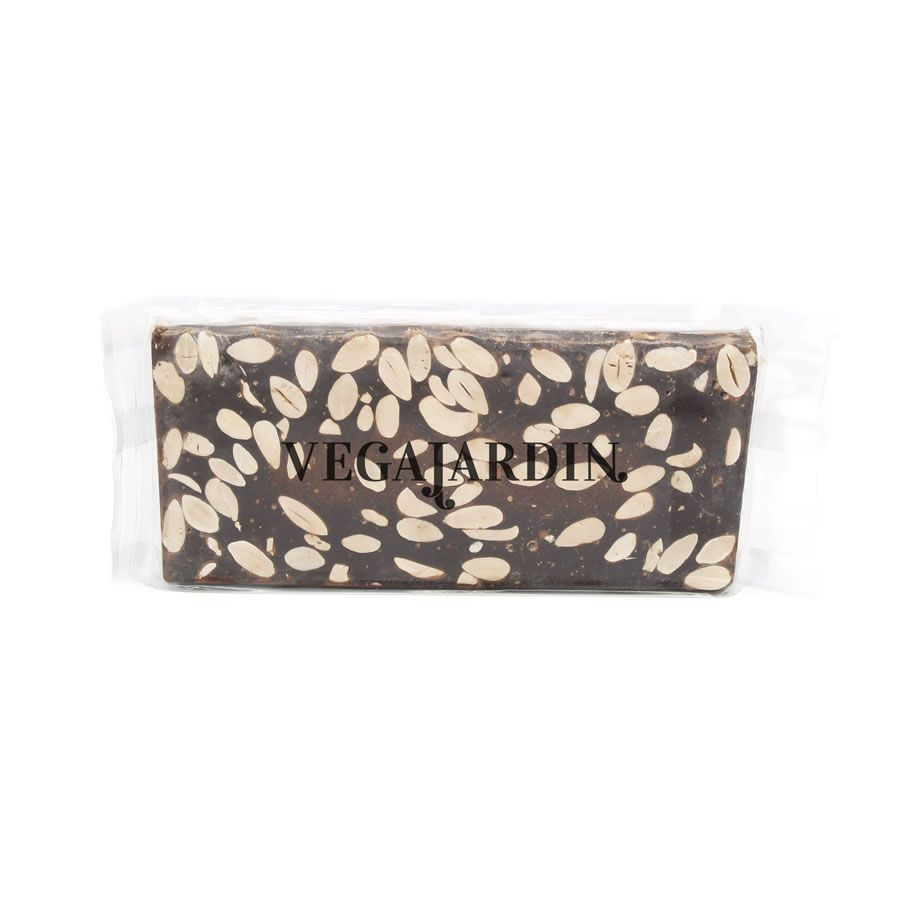 Dark chocolate and almonds nougat 300 g