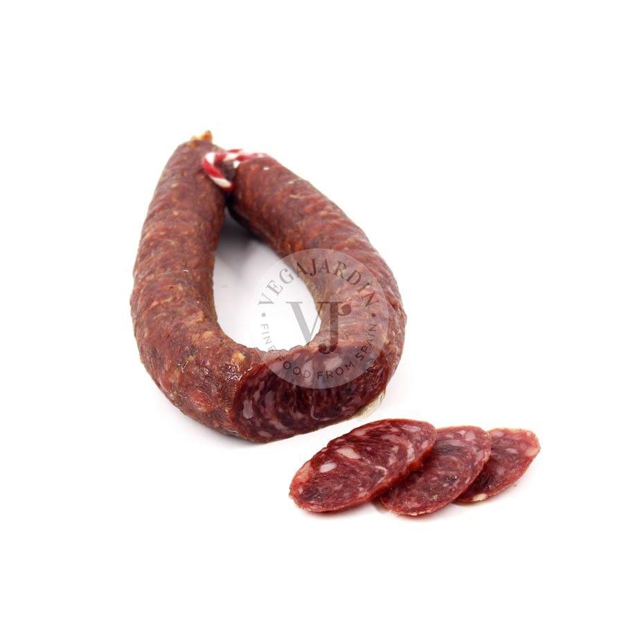 Wild boar cured salchichon U-shapped 300 g