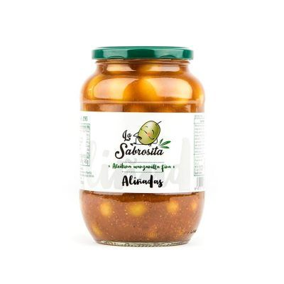 Seasoned Whole Manzanilla Olives 465 g