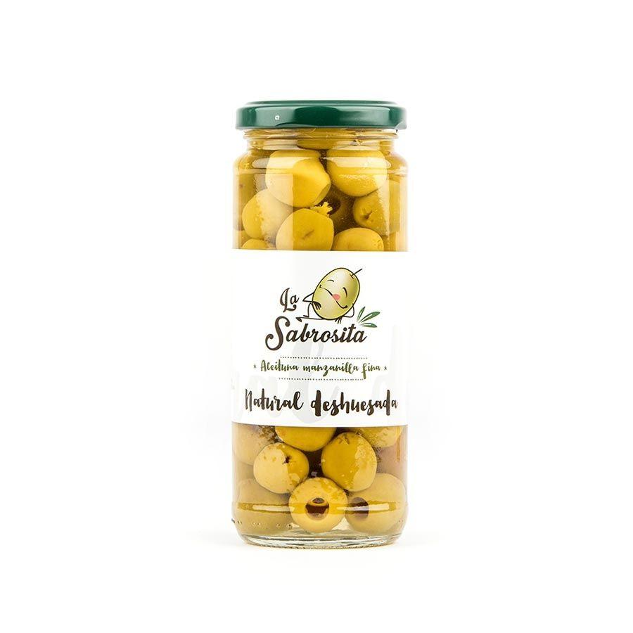 Pitted Manzanilla Olives 170 g