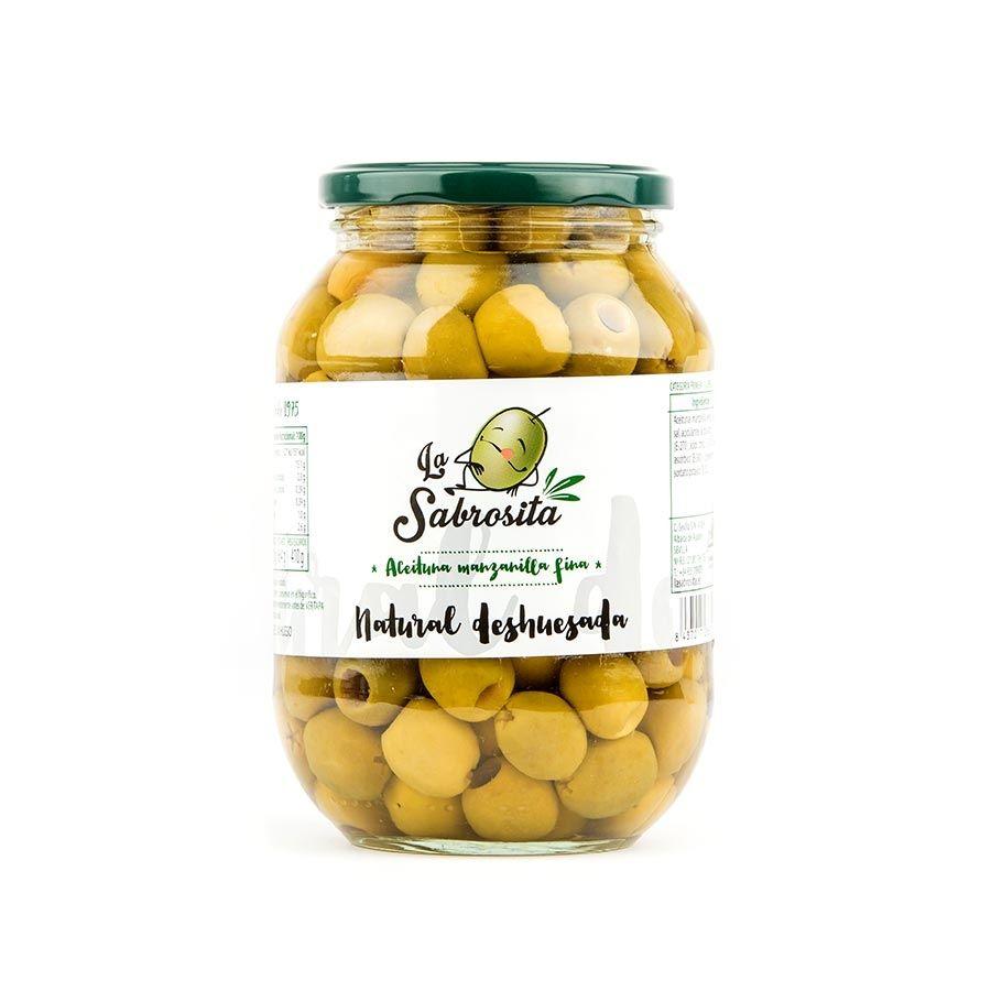 Pitted Manzanilla Olives 410 g