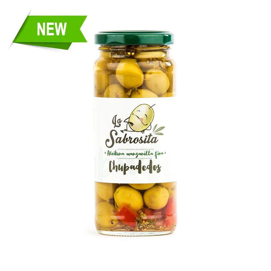 Chupadedos Whole Manzanilla Olives 195 g