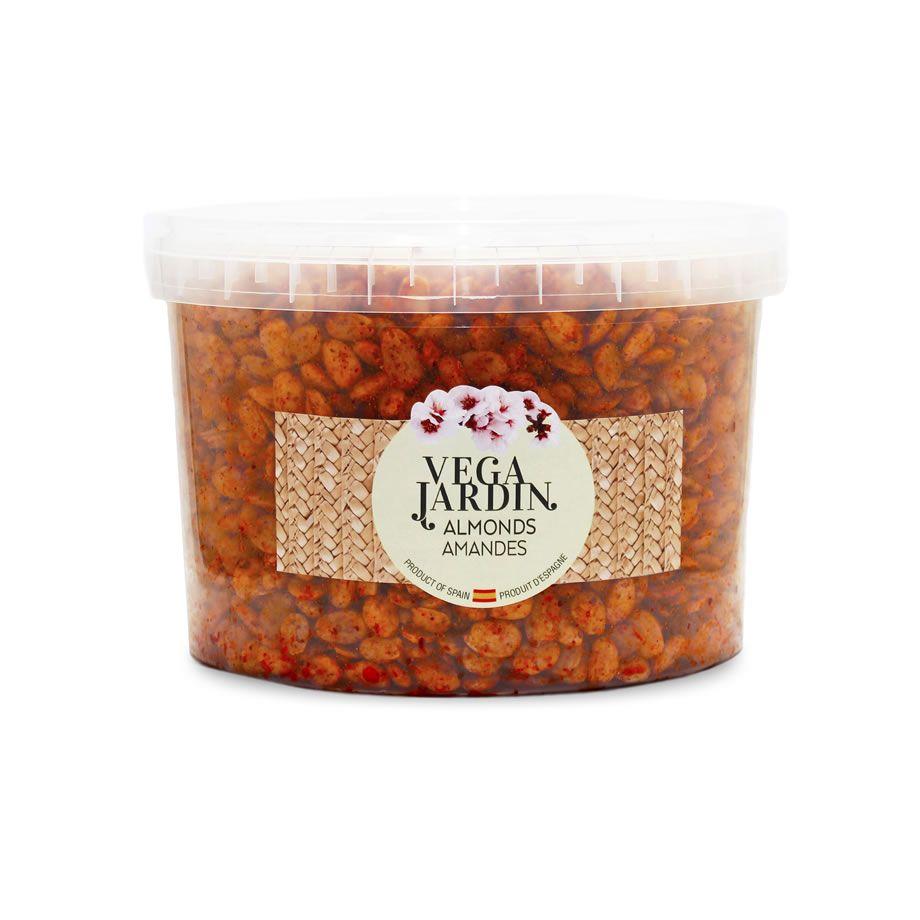 Valencia Almonds Fried & Salted Hot Paprika 5 kg