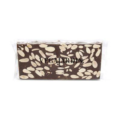 Milk chocolate and almonds nougat 300 g