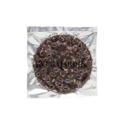 Dark chocolate and almonds nougat cake 200 g