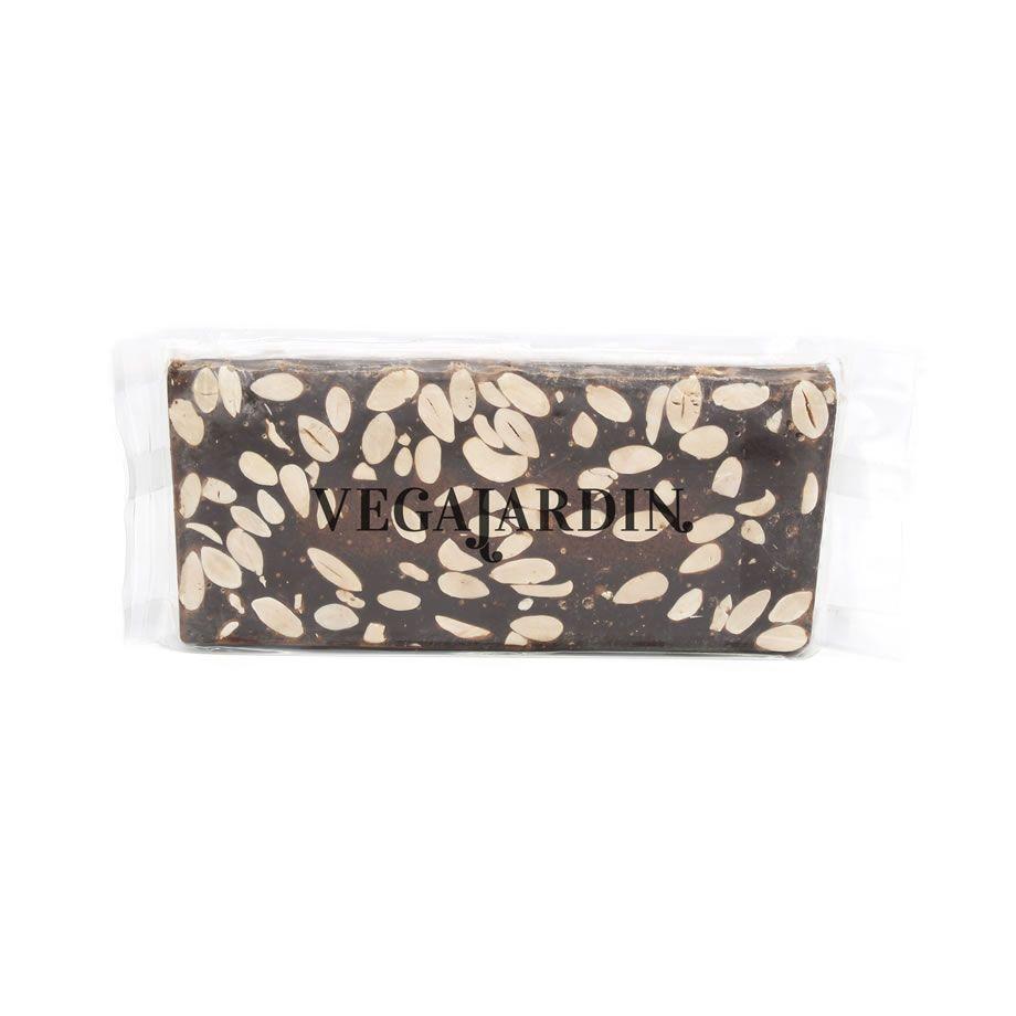 Dark chocolate and almonds nougat 300 g