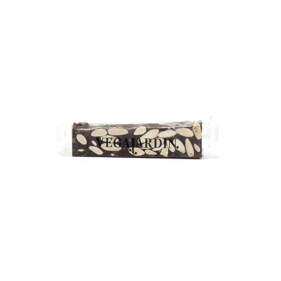 Dark chocolate and almonds nougat bars 50 g