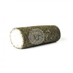 rulo de queso de cabra a las finas hierbas