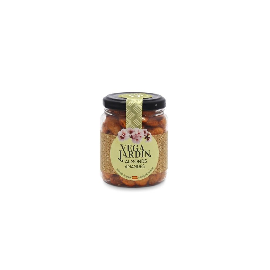 Valencia Almonds Fried & Salted Hot Paprika 125 g