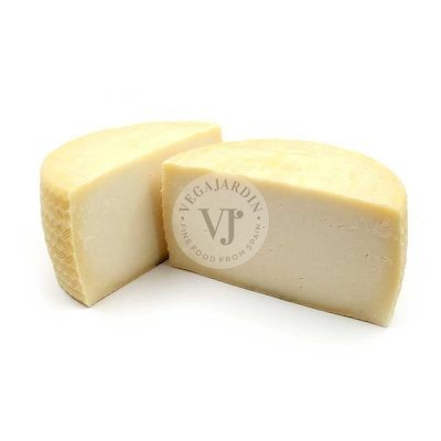 Goat-sheep blended cheese semicured