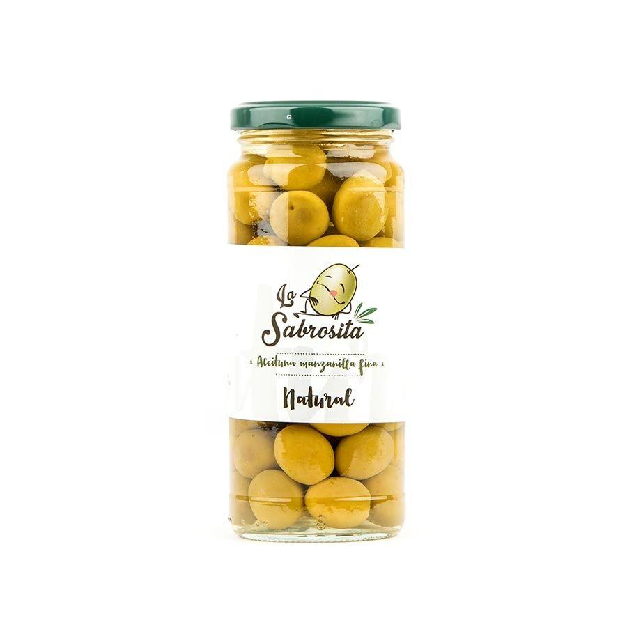 Whole Manzanilla Olives 195 g