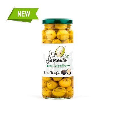 Whole Manzanilla Olives with Truffle190 g