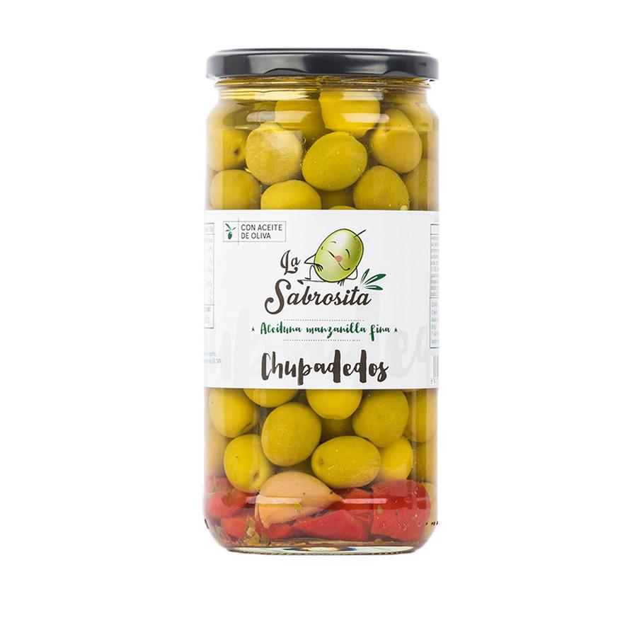 Chupadedos Whole Manzanilla Olives 400 g