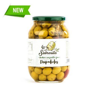 Chupadedos Whole Manzanilla Olives 500 g
