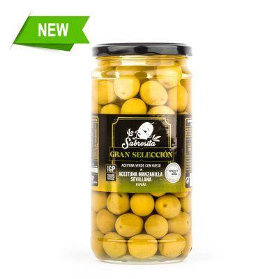 Whole Manzanilla Olives PGI 380 g