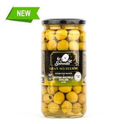 Pitted Manzanilla Olives PGI 325 g