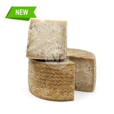 Sheep Cheese with Black Garlic
