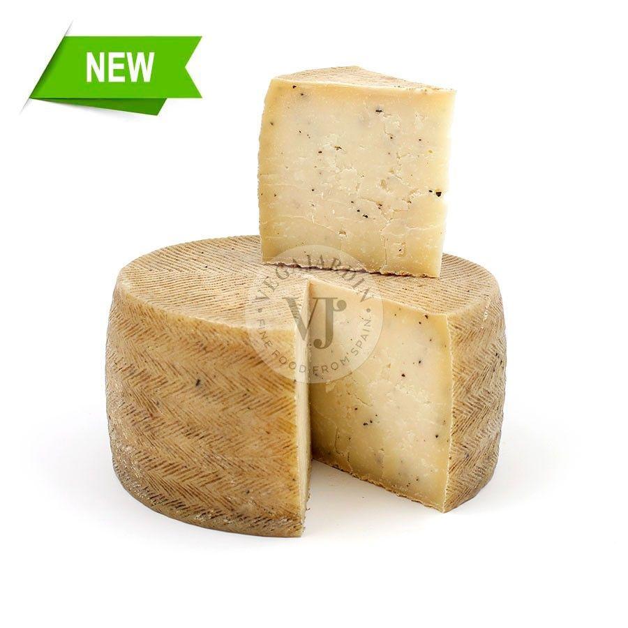 Black Truffle sheep Cheese